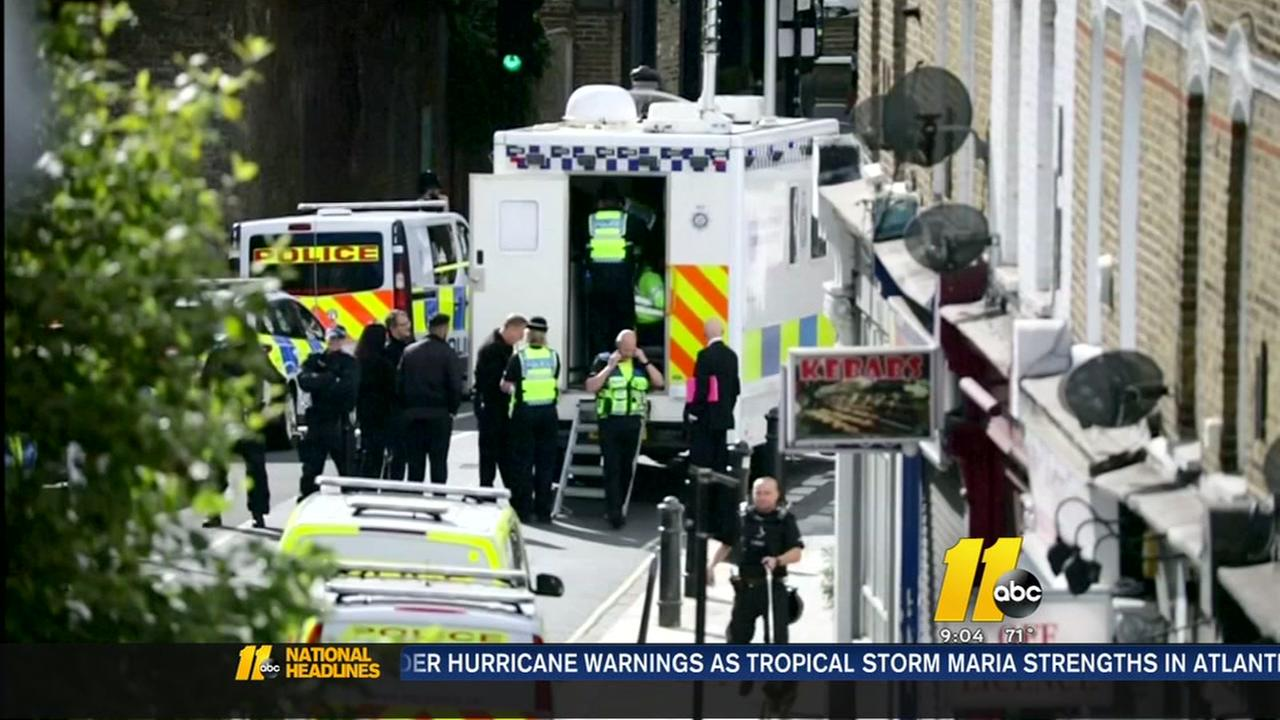 UK police make a second arrest on the London subway attack.