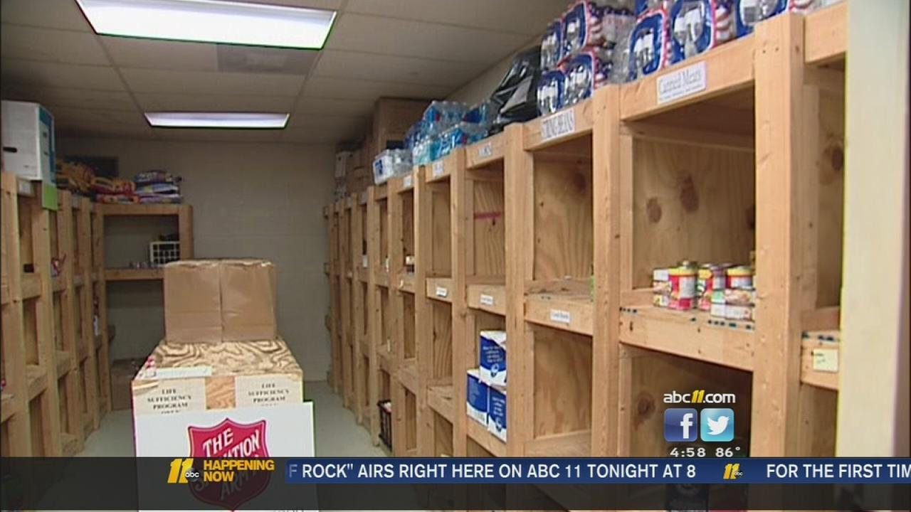 Durham Salvation Army out of food