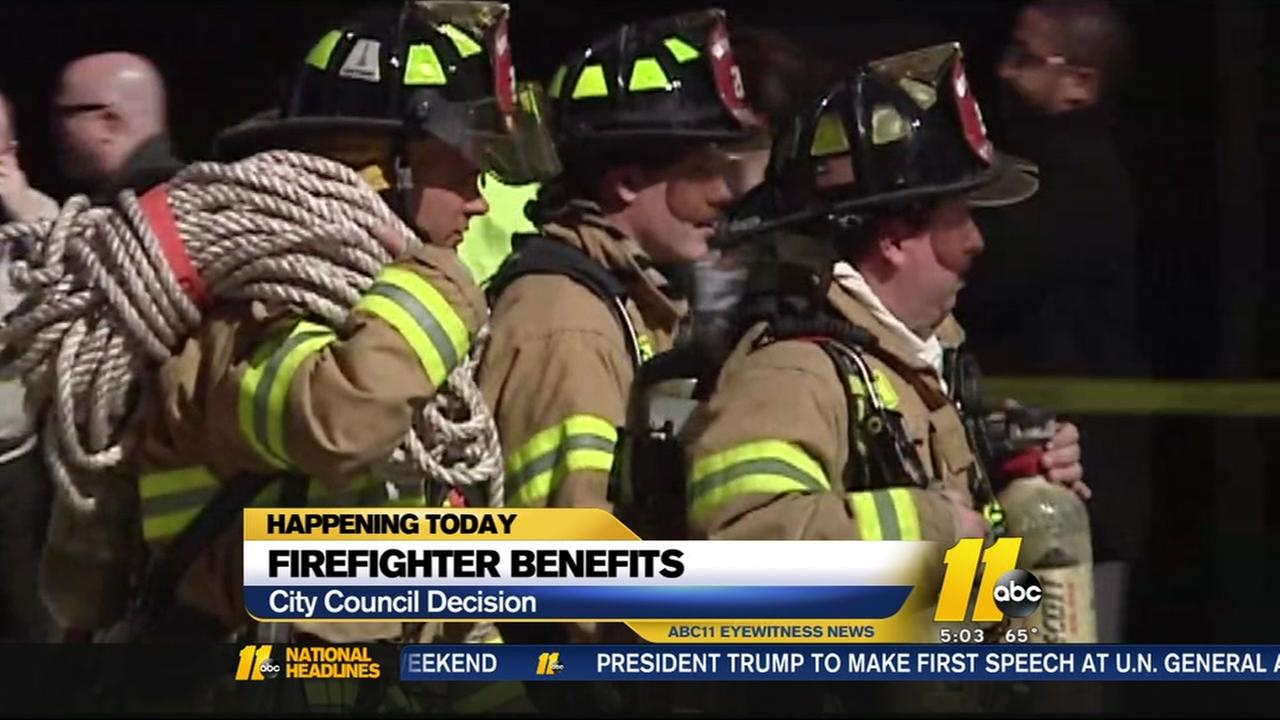 Raleigh City Council could reverse firefighter benefit cuts