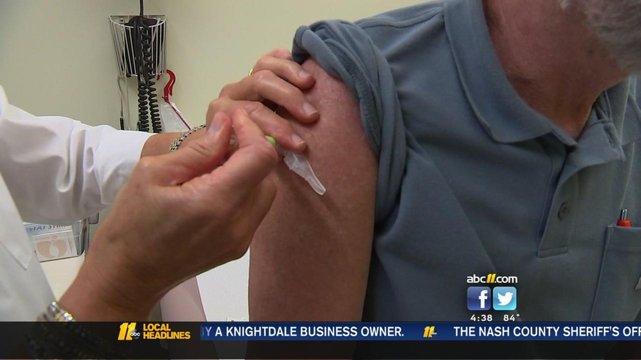 Flu clinics begin vaccinations