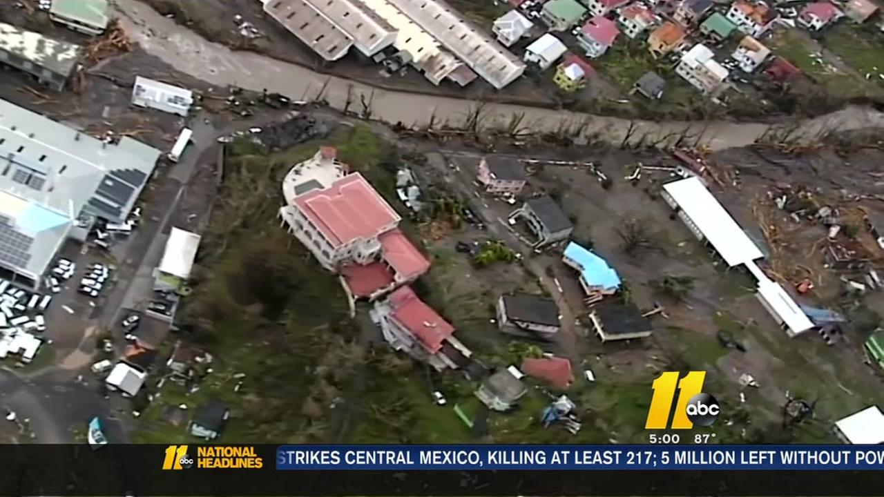 Hurricane Maria destroys Puerto Rico