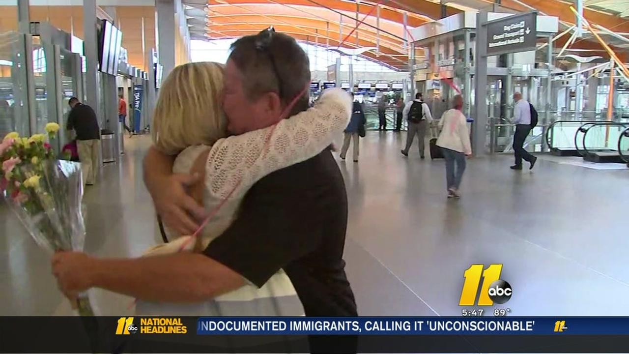Cary man reunited with his sister for the first time in over 50 years