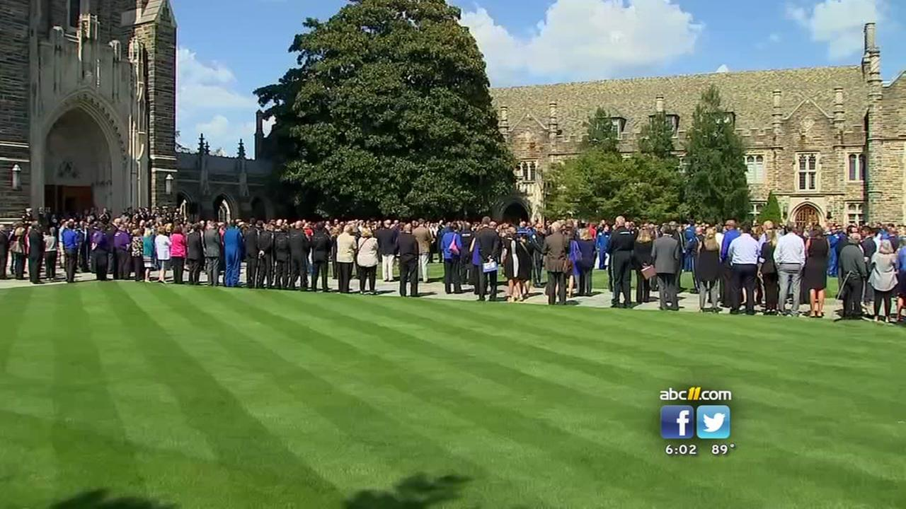 Duke University and Duke Health hold memorial service for Life Flight victims