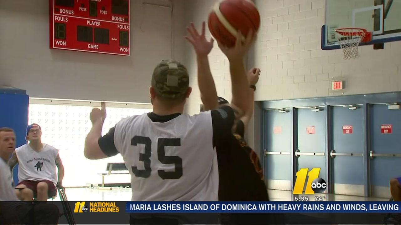 Fort Braggs Wounded Warriors compete for spot in national tournament