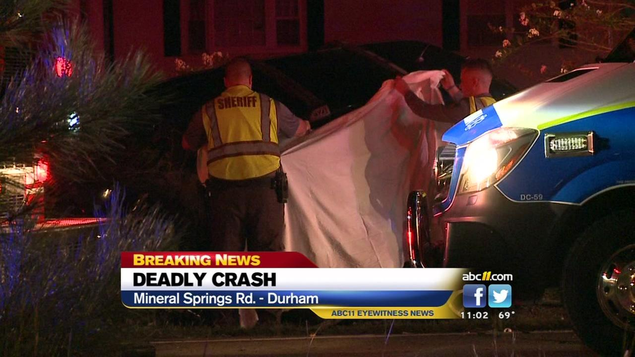 One dead in head-on crash in Durham