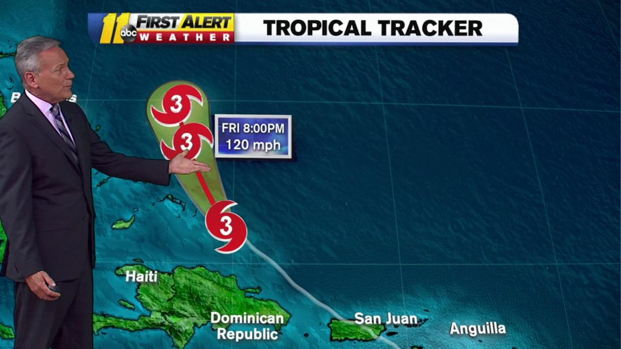 The latest on Hurricane Marias track