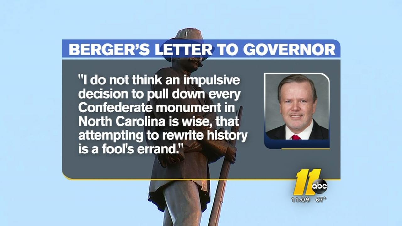 Bergers letter to governor