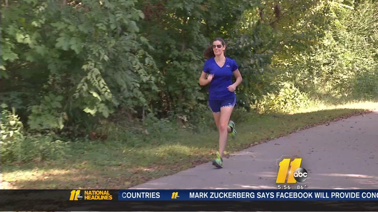 Wake Forest woman runs past caner to international race