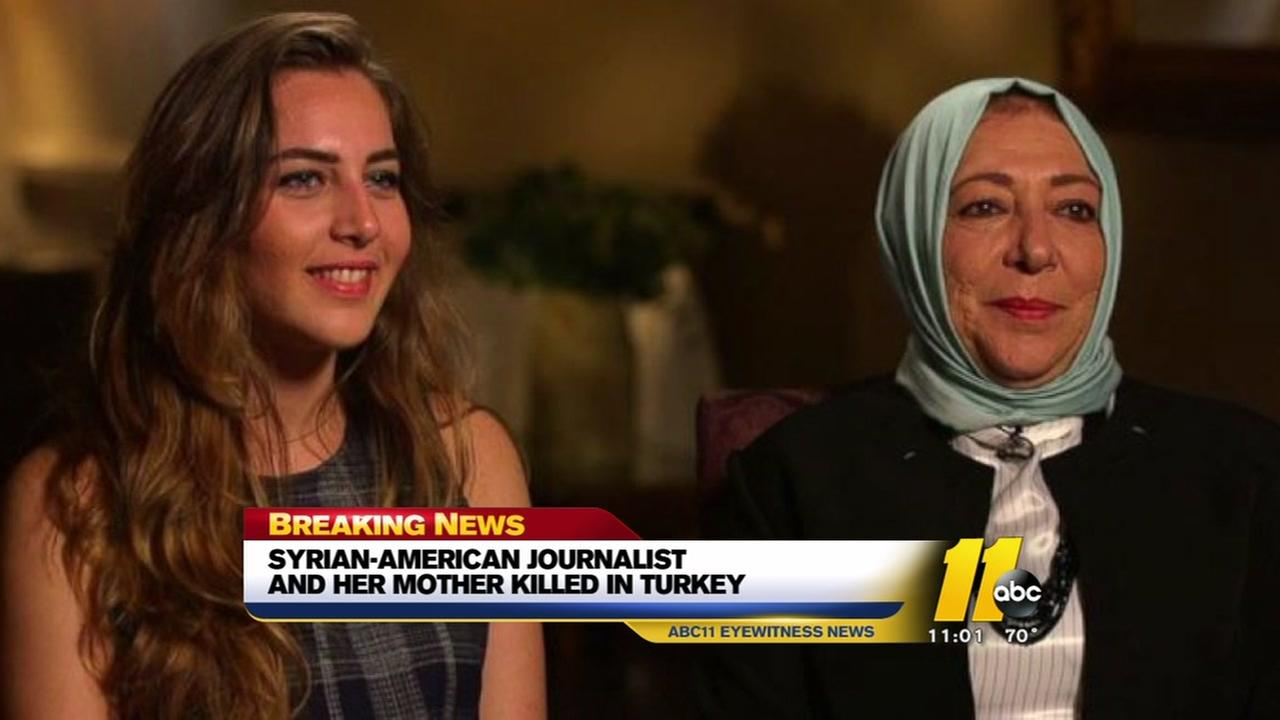 Syrian-American journalist, mother killed in Turkey