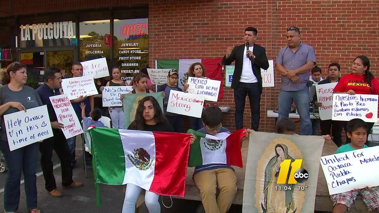 Vigil remembers Mexico earthquake victims