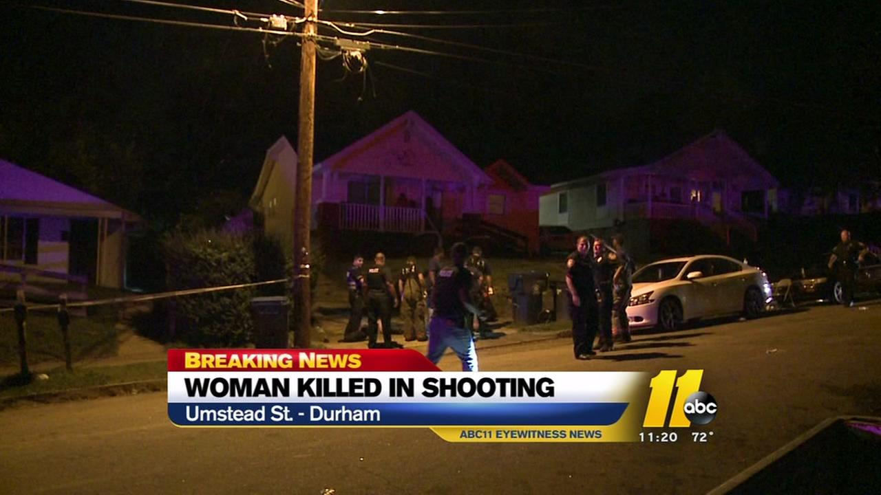 Woman killed in Durham shooting