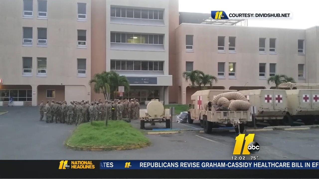Fort Bragg soldiers back in St. Thomas after Maria
