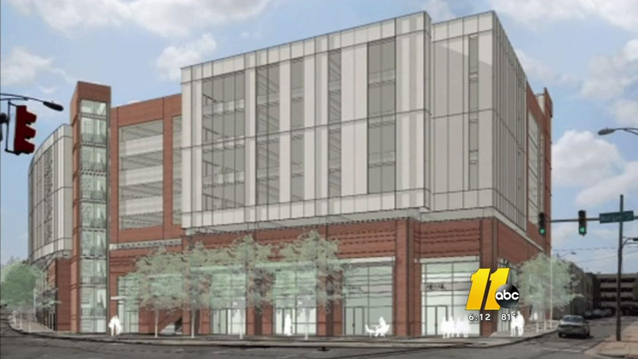 New parking deck coming to downtown Durham