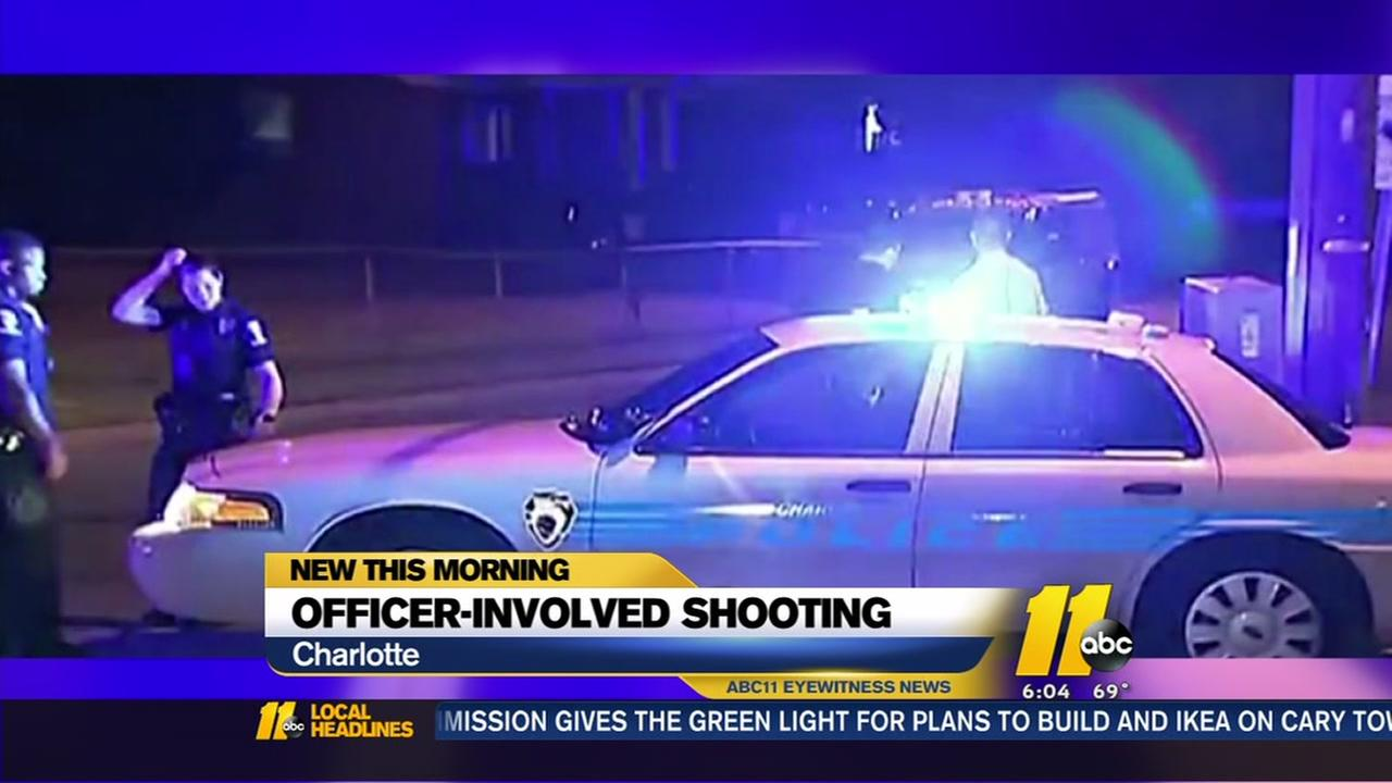 Officer-involved shooting in Charlotte
