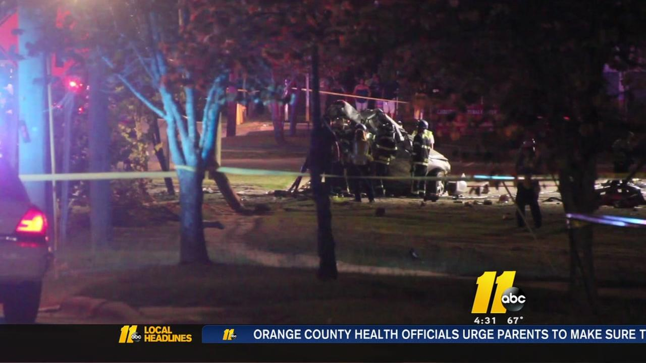Deadly crash on Murchison Road in Fayetteville