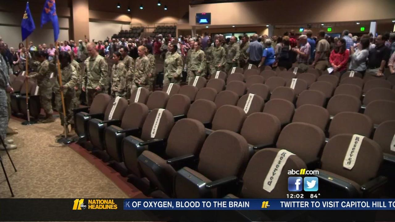 North Carolina soldiers deploying to Iraq, Kuwait