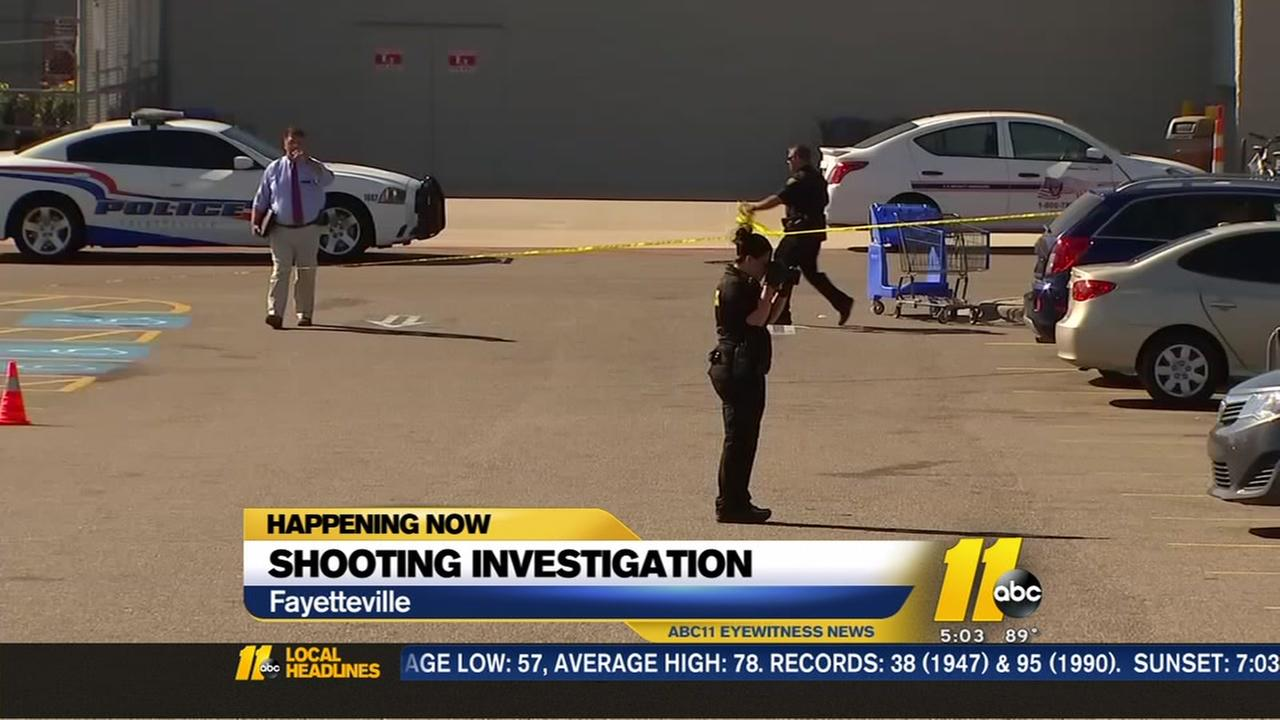 Police ID man shot in parking lot of Fayetteville Walmart