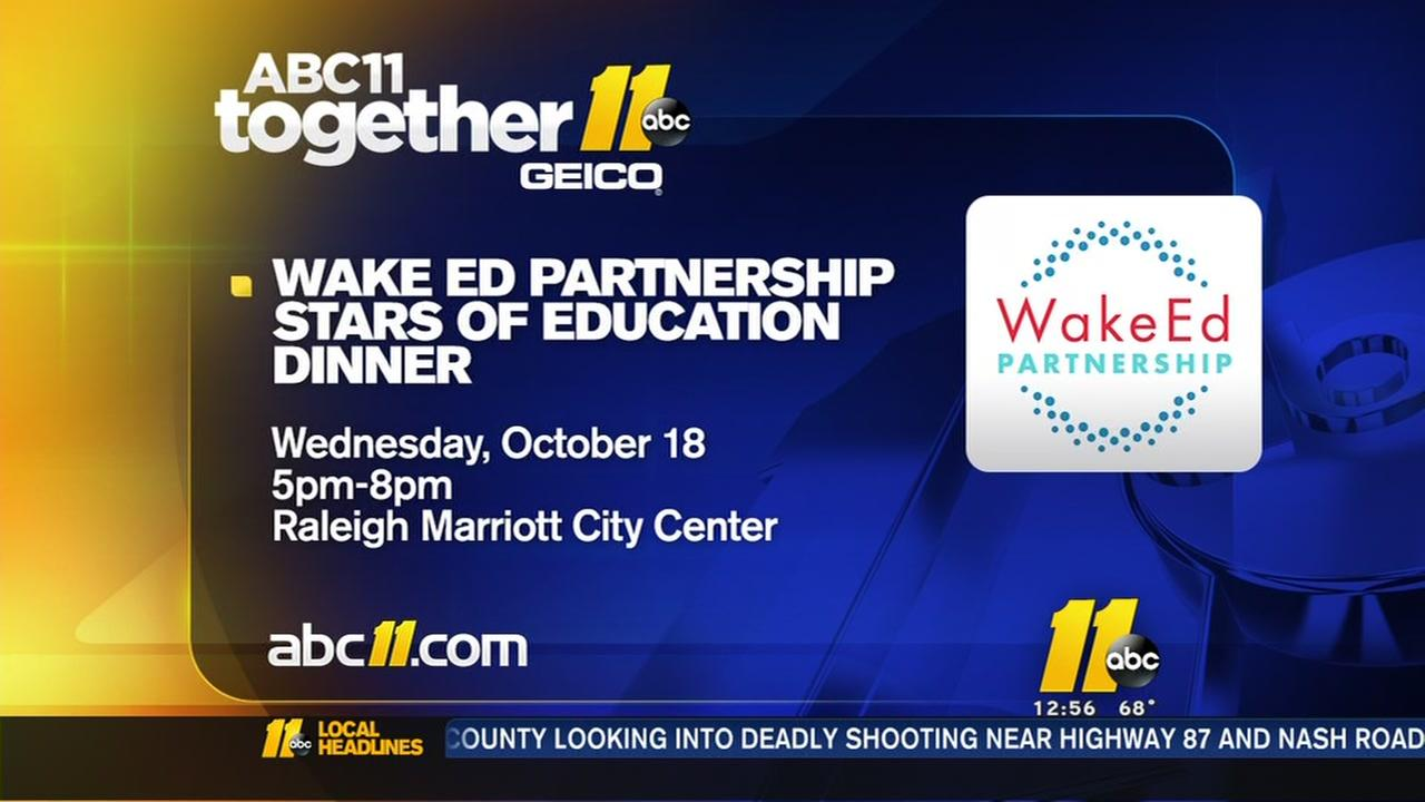 Wake Ed Partnership honors the Stars of Education