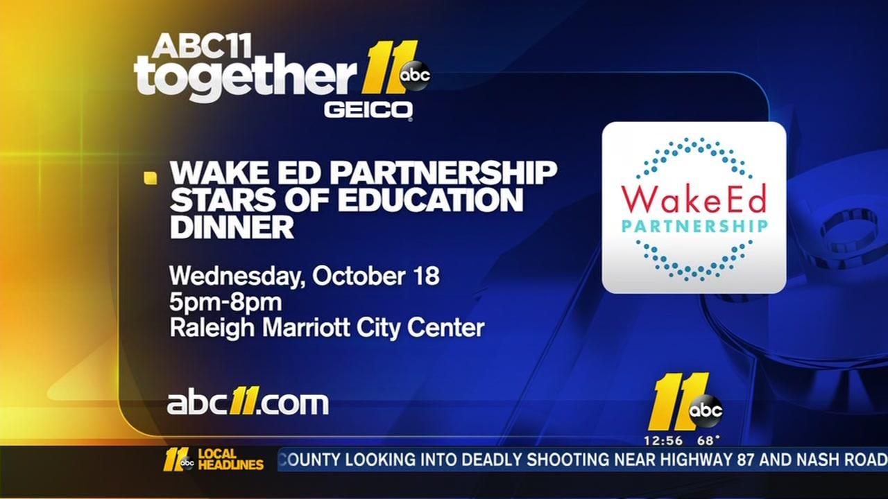 Wake Ed Partnership honors the Stars of Education