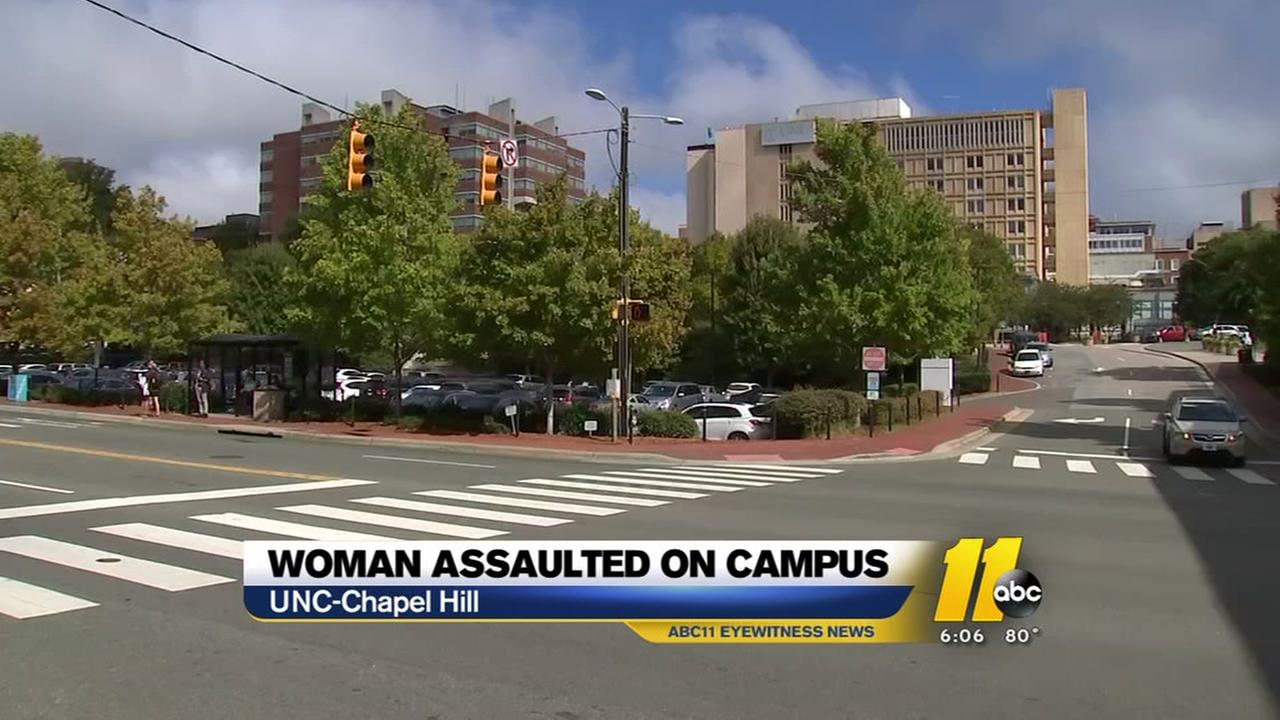 Woman assaulted on UNC campus