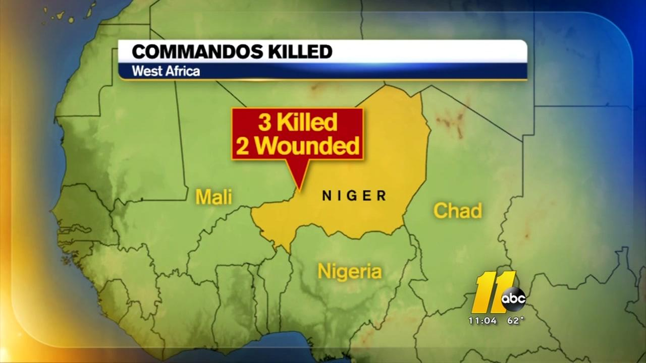3 Green Berets killed in Niger attack