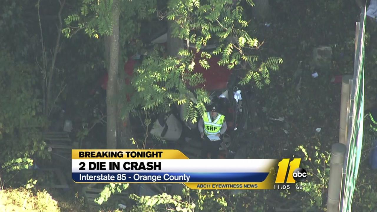 Two women killed in I-85 crash