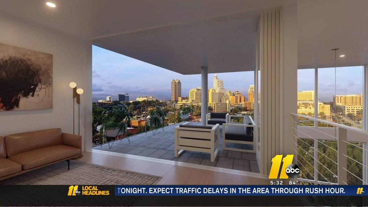 Luxury condos coming to downtown Raleigh