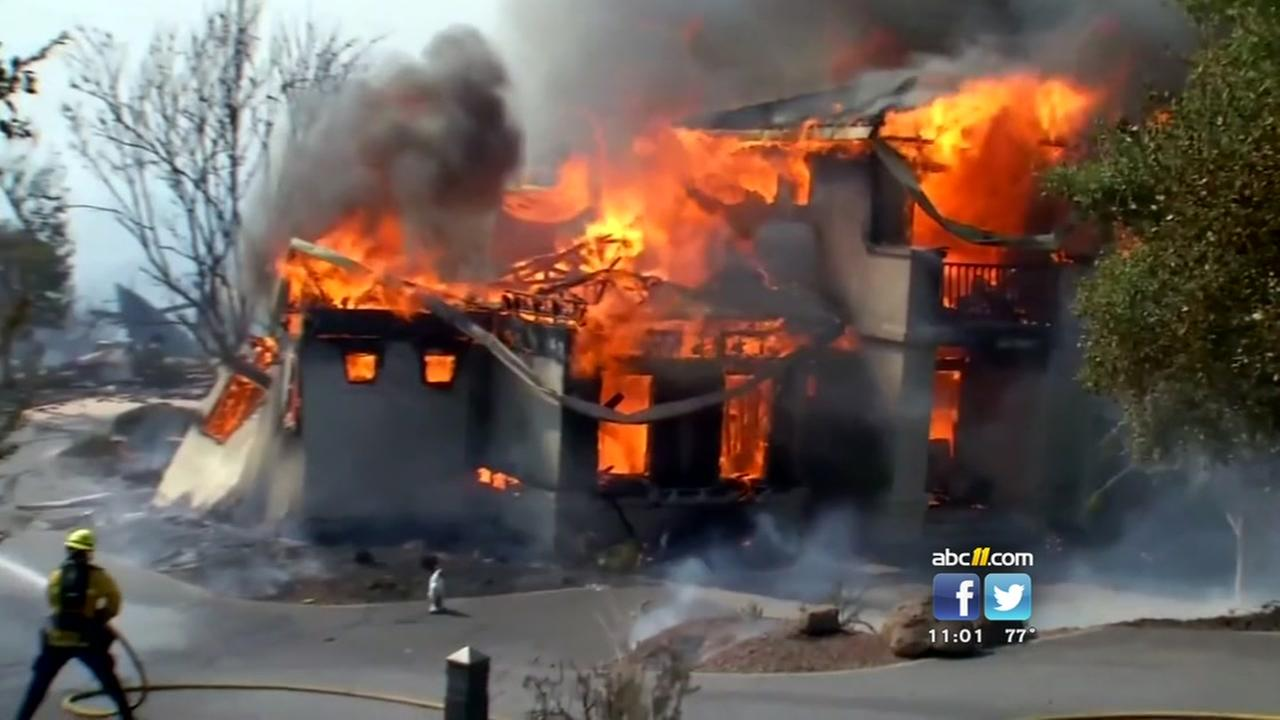 Deadly fires rage in California