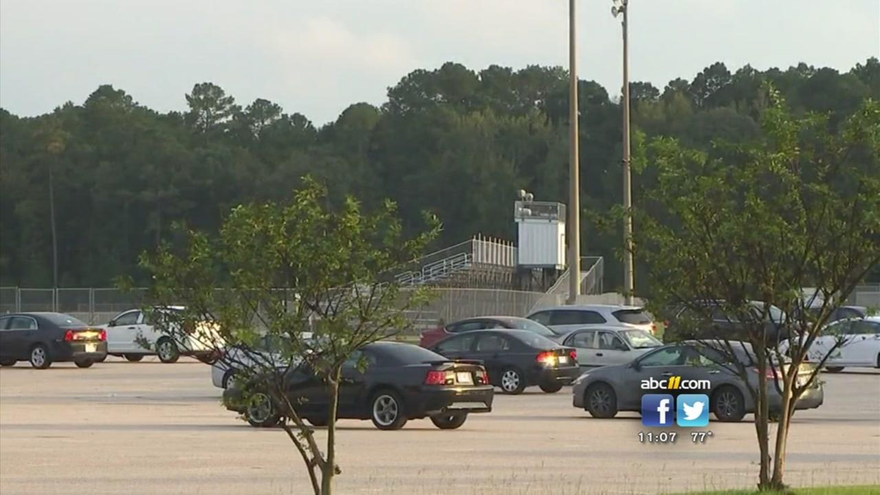 KKK recruitment fliers were found in the parking lot of Grays Creek High School on Friday night following the football game.