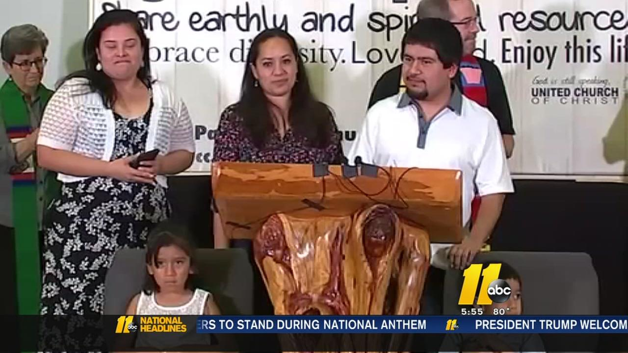 Undocumented man taking sanctuary in Raleigh church