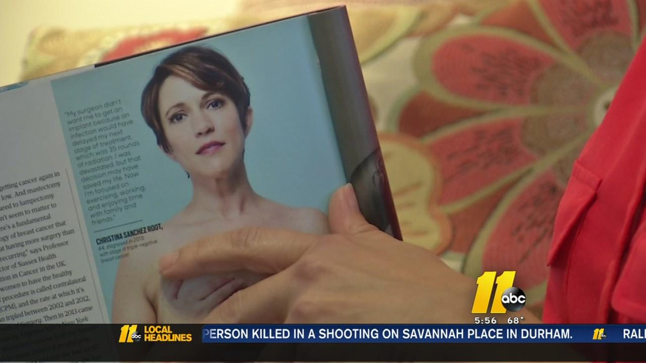 Raleigh woman featured in O Magazine sharing mastectomy to inspire others
