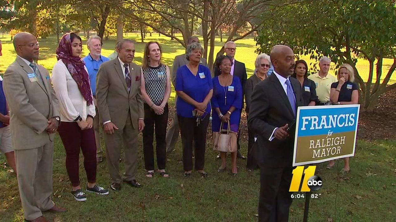 Charles Francis requests runoff against 3-term Raleigh mayor