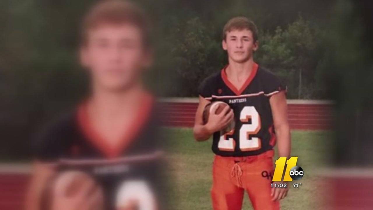 Vigil for Orange County high school football player fighting for his life