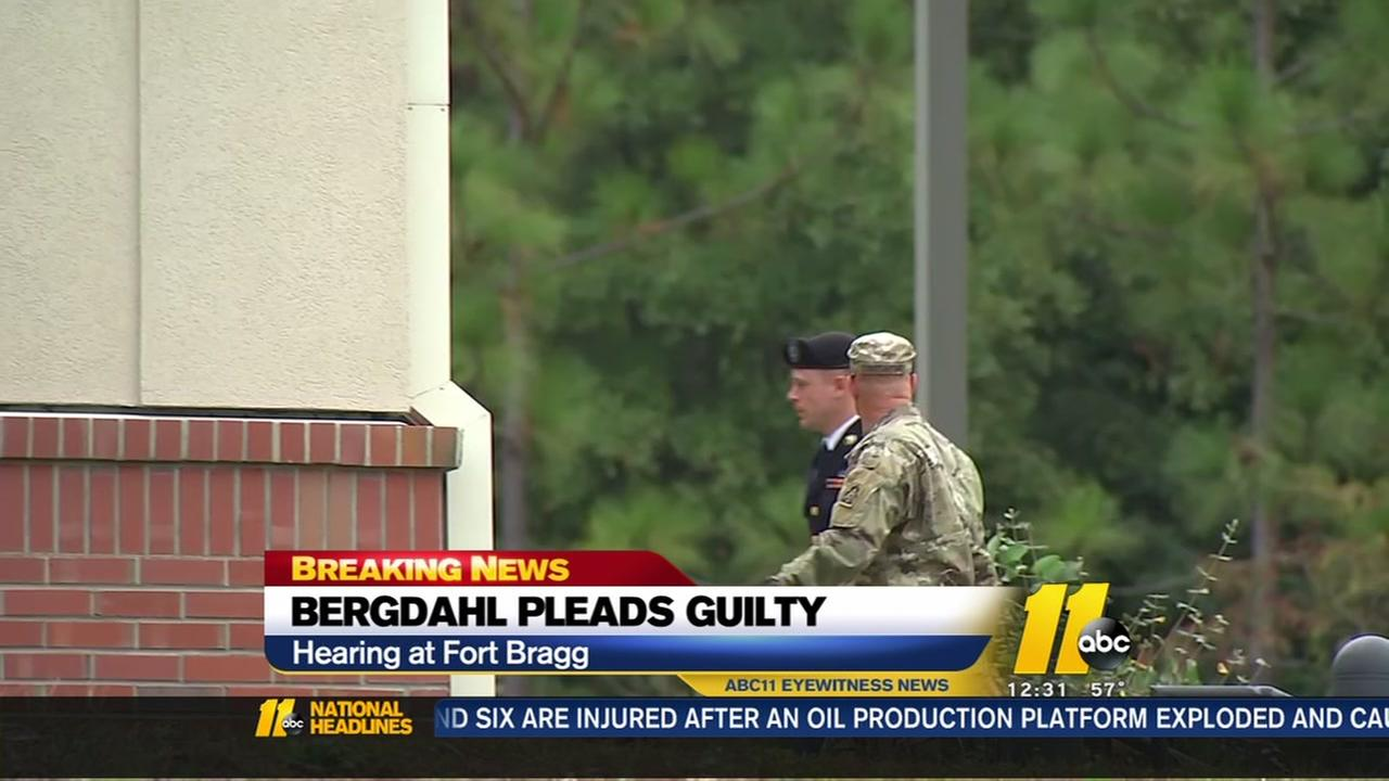 Army Sgt. Bowe Bergdahl pleads guilty to avoid trial