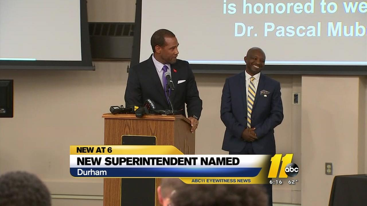 Durham names new superintendent