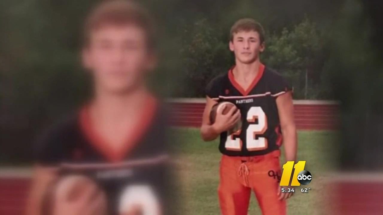 Orange County High rallies around injured football player
