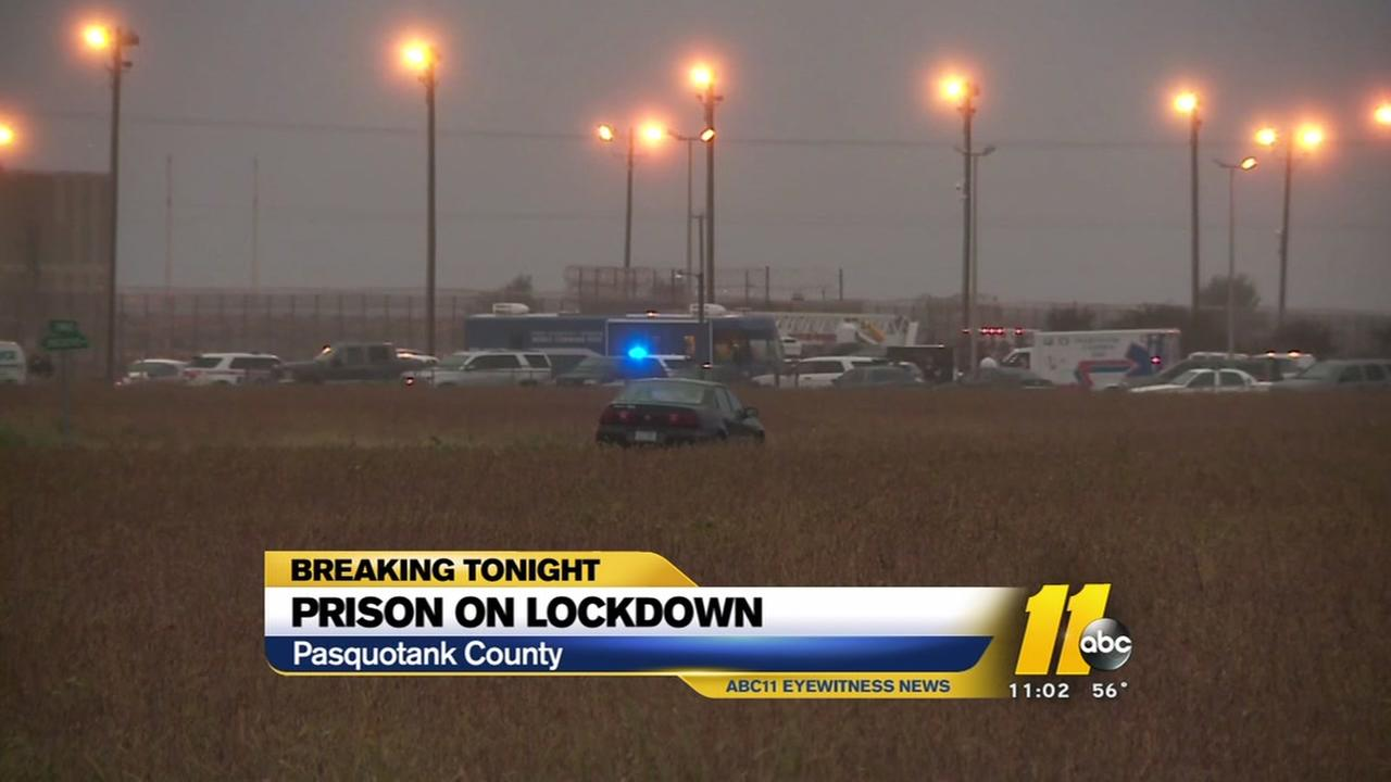 Prison remains on lockdown