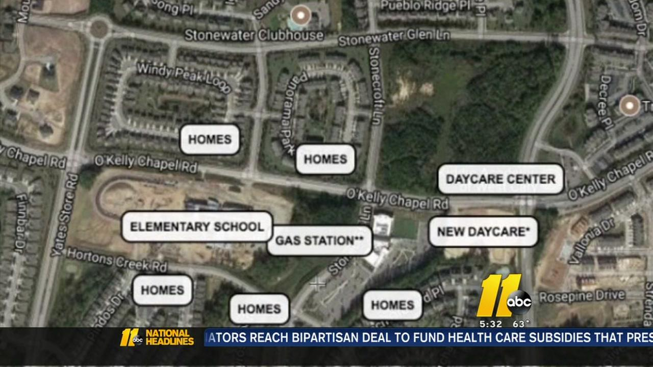 Parents petition against proposed Cary gas station