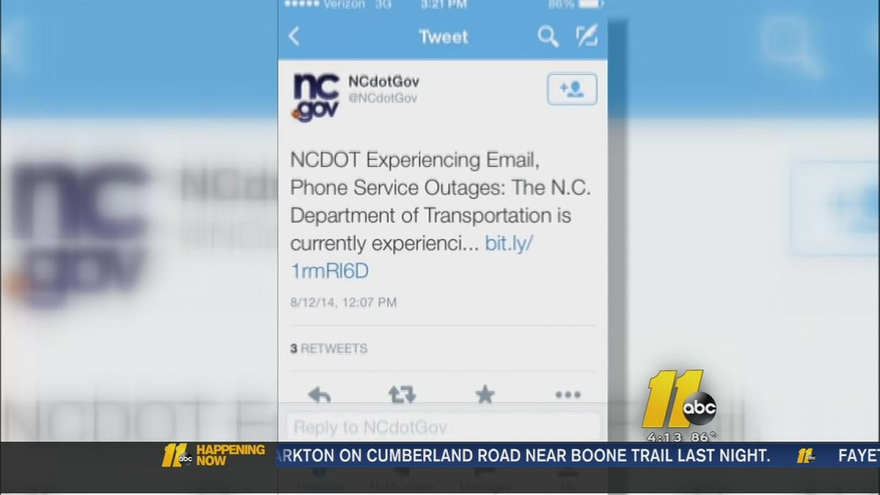 NC government offices experiencing phone, email outage