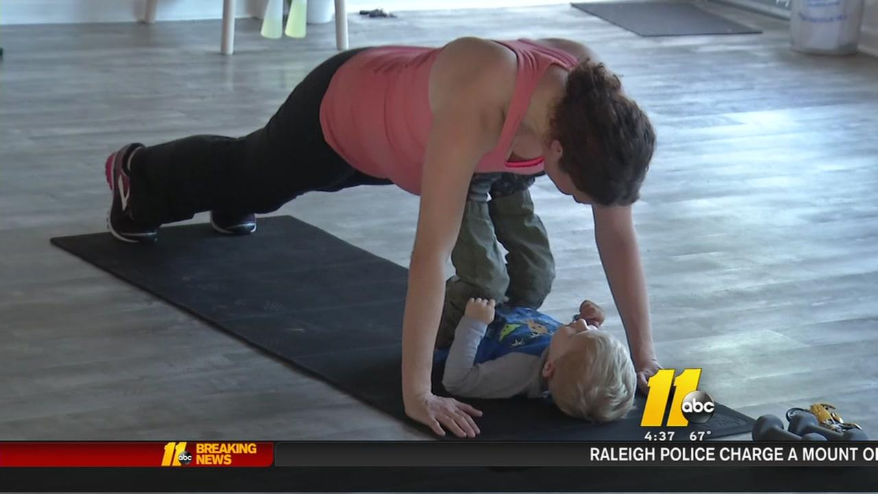 Durham fit mom trainer develops athletic line for pregnant women, new moms