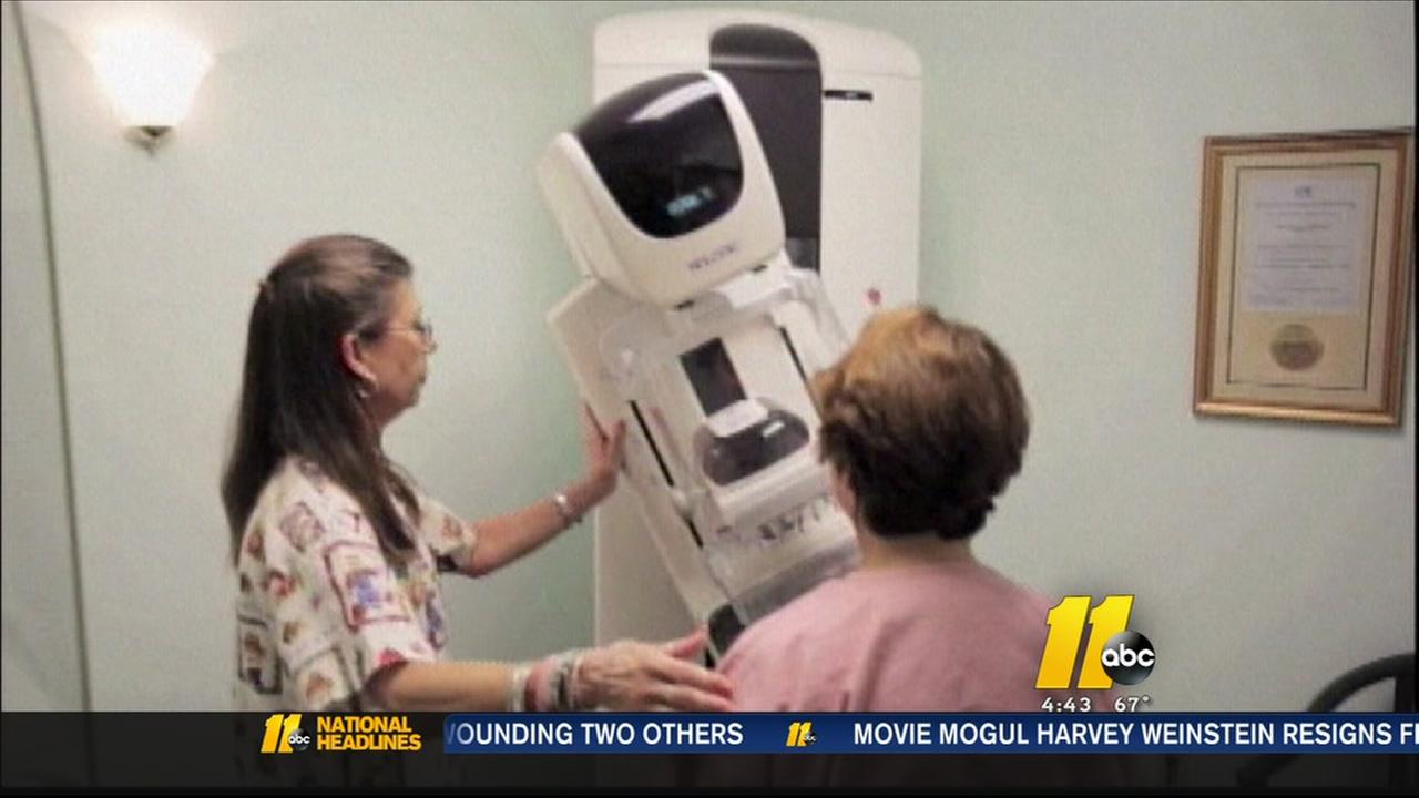 Free mammograms could save lives