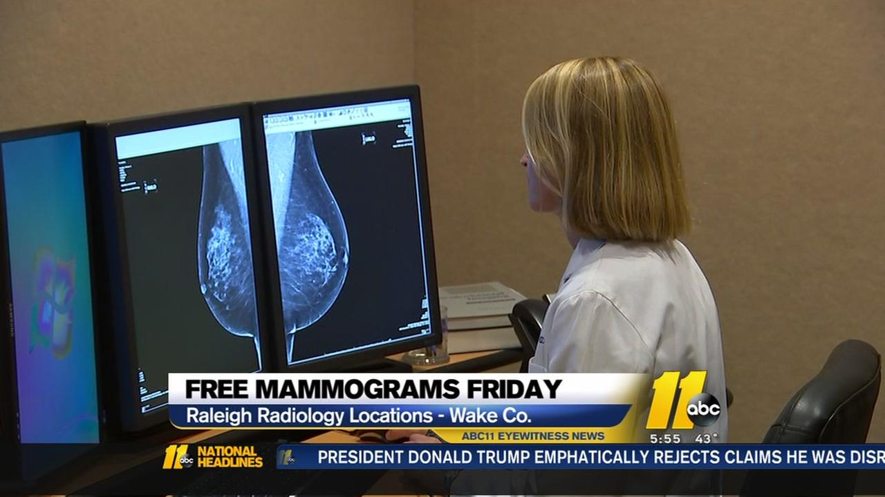Free mammograms offered on National Mammography Day