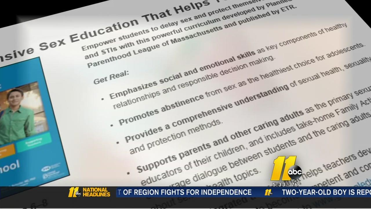 Parents critical of Cumberland County sex ed initiative