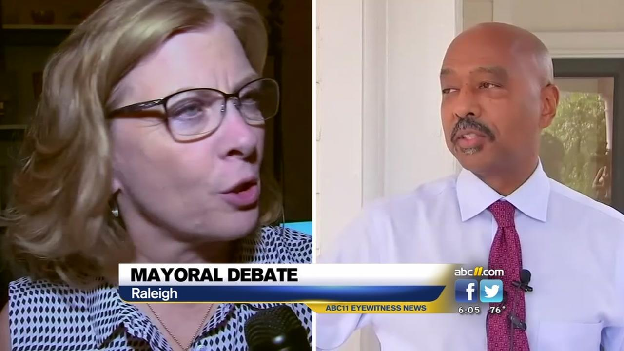 Raleigh mayoral debate