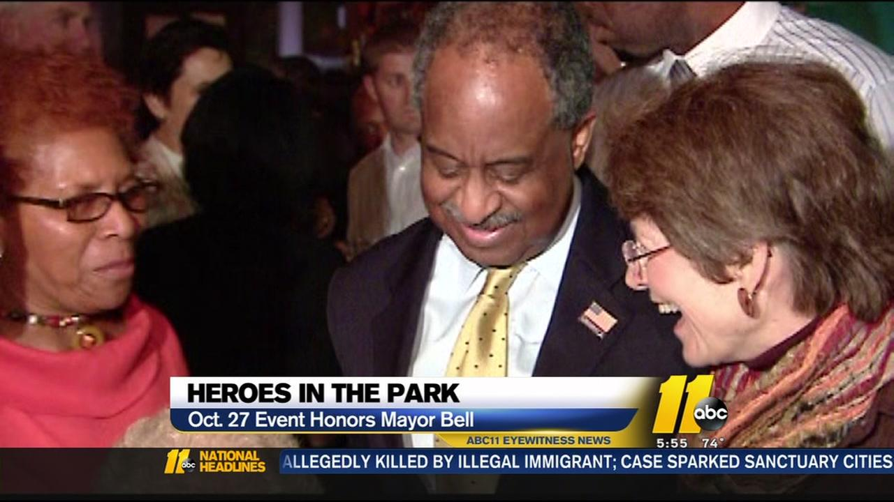 Heroes in the Park honors outgoing mayor