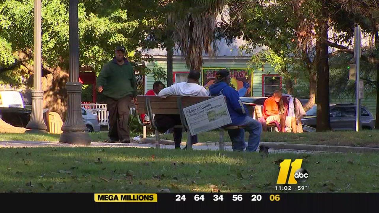 Moore Square renovations expected to revitalize area