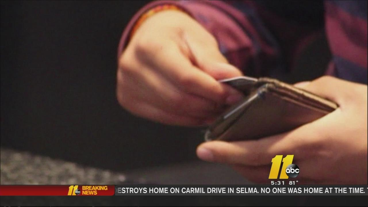 Stolen wallet leads to shopping spree