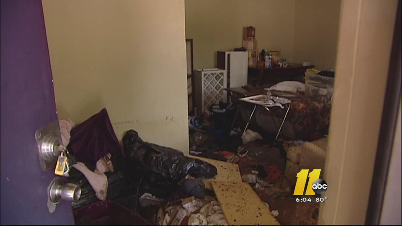 Clean-up begins after flash flooding in Raleigh