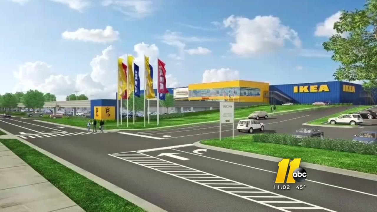 Cary approves IKEA plans