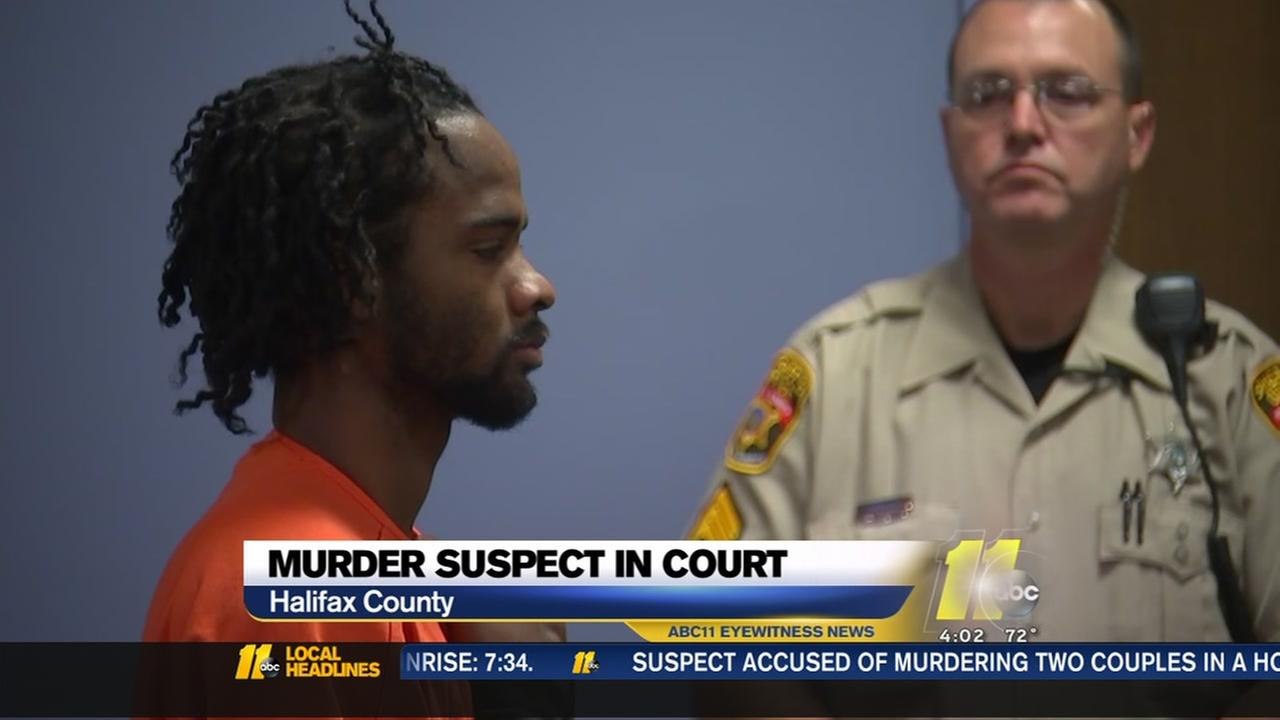 Quadruple murder suspect makes court appearance